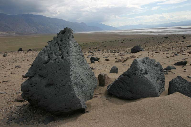 ventifacts, Death Valley, California