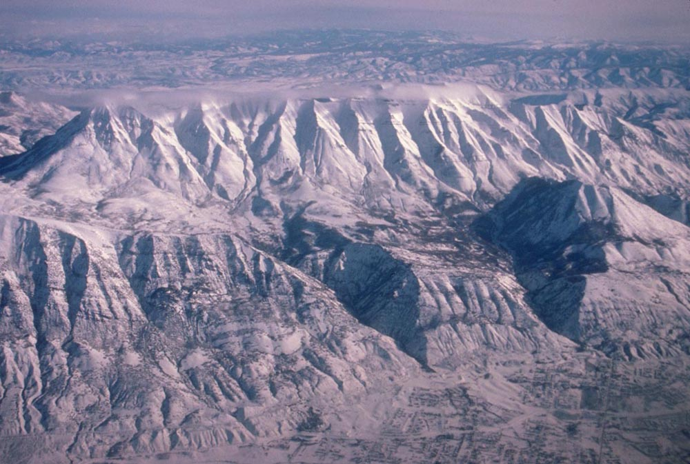 ... Mountains, Utah, at the eastern edge of the Basin and Range Province