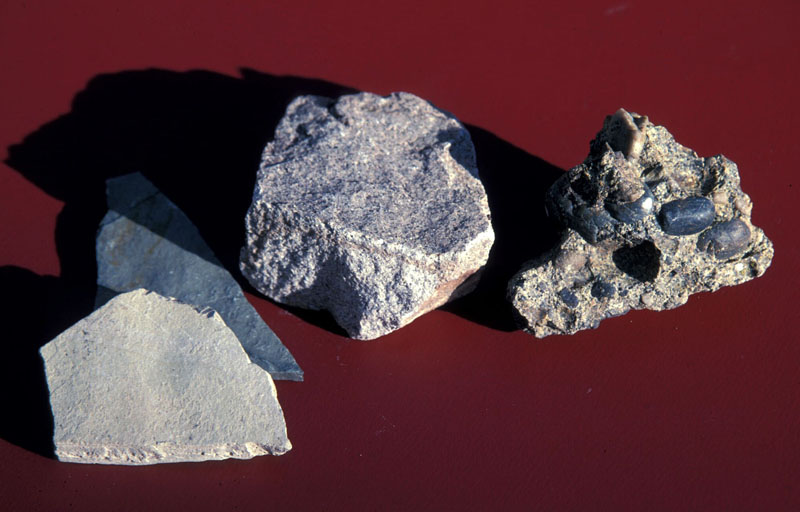 Clastic sedimentary rocks: shale, sandstone, conglomerate