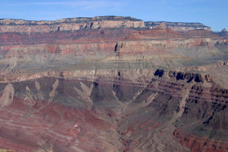 Angular unconformity, Grand Canyon, AZ